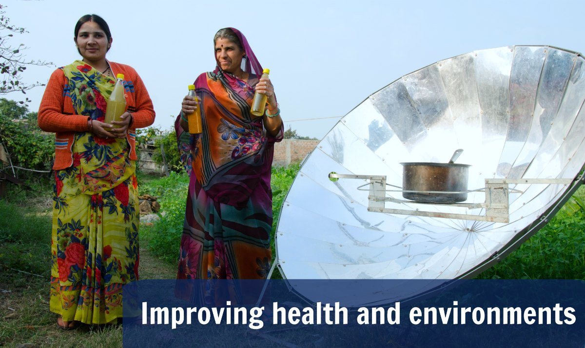 Solar cooking in India