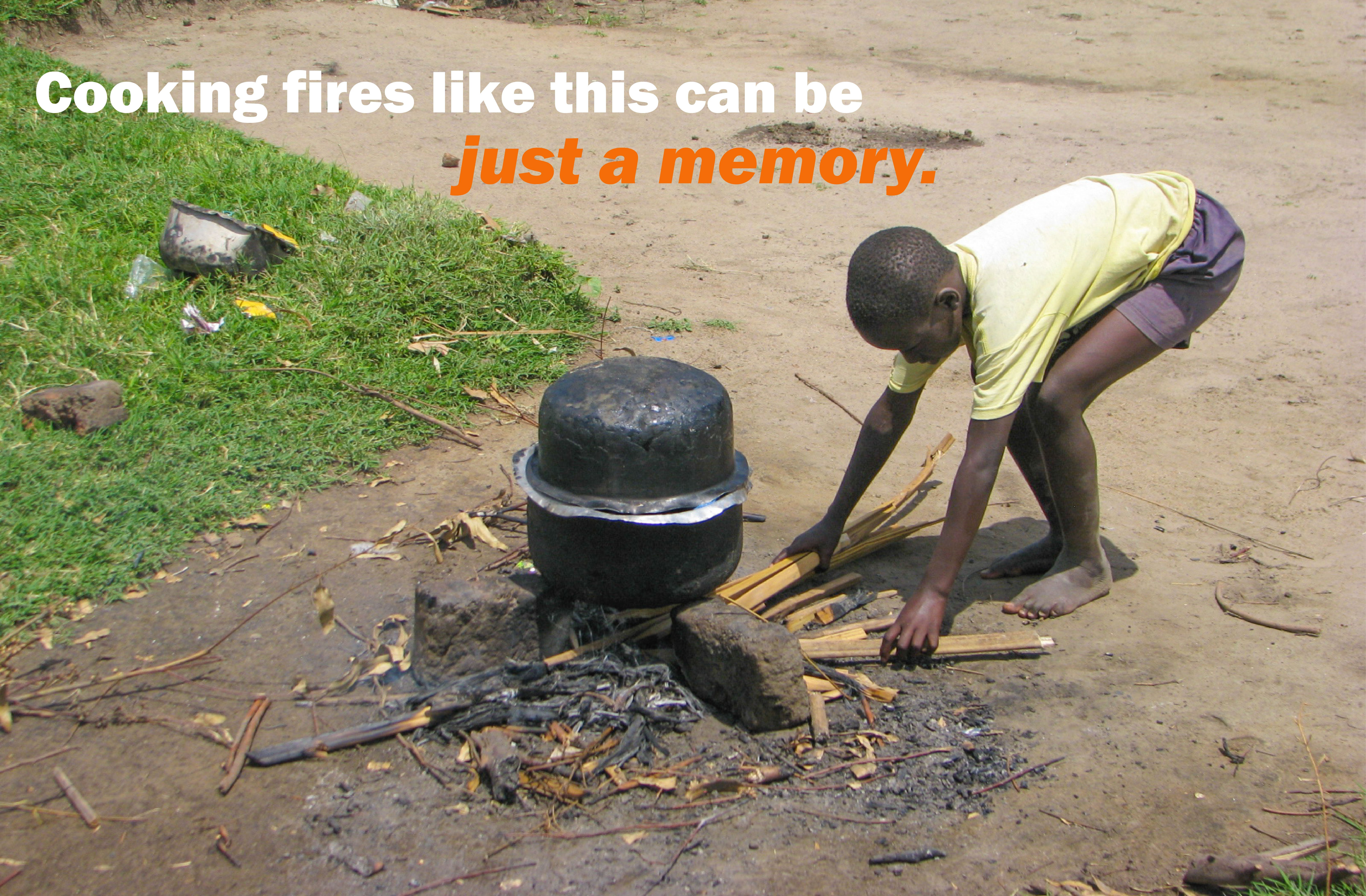 You can help make cooking fires a memory.