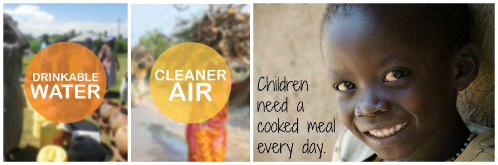 Children need a cooked meal every day.